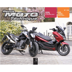 REVUE MOTO TECHNIQUE KTM 790 DUKE  2018 à 2019 - RMT 194