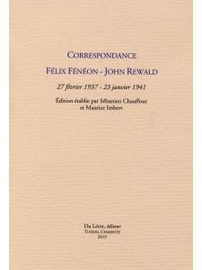 Correpondance Félix Fénéon - John Rewald : 27 février 1937-23 janvier 1941 / Félix Fénéon / Edition du Lérot-9782355481420