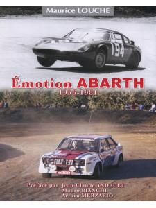 EMOTION ABARTH 1956-1981 de MAURICE LOUCHE-9782954445274