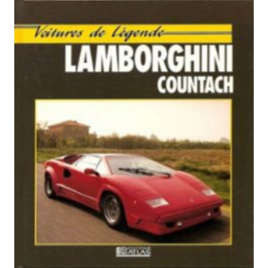 Lamborghini Countach VOITURES DE LEGENDE / Chris Bennett / Edition ATLAS-9782731214192