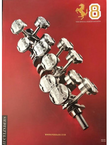THE OFFICIAL FERRARI MAGAZINE N°8 - 12 CYLINDERS