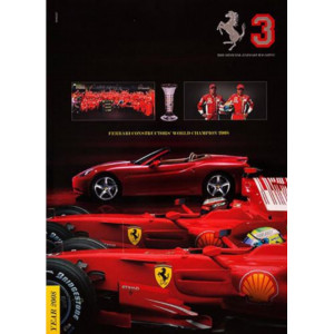 THE OFFICIAL FERRARI MAGAZINE N°3 - YEAR 2008
