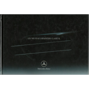 Catalogue Mercedes Roadsters SL , SL 500 & sl 55 amg