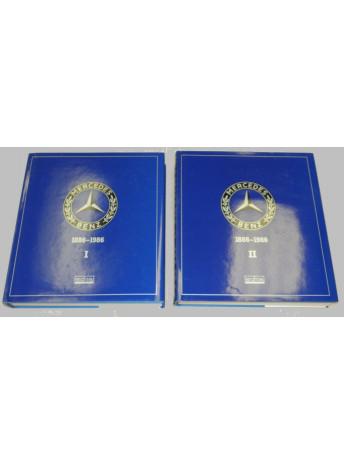 Catalogue Raisonné Mercedes-Benz 1886-1986 / 2 volumes / Edition EDITA-9782880011949