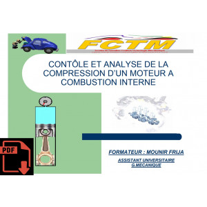 CONTÔLE ET ANALYSE DE LA COMPRESSION D'UN MOTEUR A COMBUSTION INTERNE