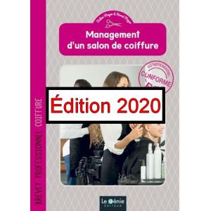 Management d'un salon de coiffure BP Coiffure / Edition Le Génie/ AP220-9782375637524