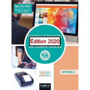 Bloc de compétences A4 ,Option A / Edition Le Génie / AP293-9782375637135