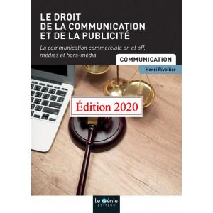 Le droit de la communication et de la publicité BTS / Edition Le Génie / EP058-9782375635193