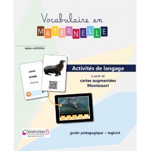 Vocabulaire en maternelle / BORRONI Nathalie / Editions Généation 5