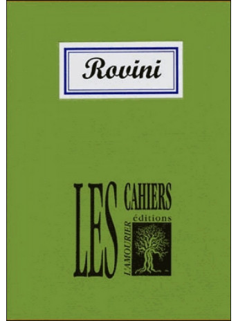 Robert Rovini / Alain Freixe / Edition L' AMOURIER
