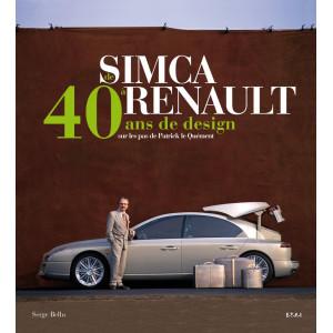 De Simca à Renault : 40 ans de design / Serge Bellu / Edition ETAI