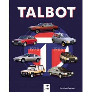 Talbot 1978-1987 / Dominique Pagneux / Edition ETAI-9791028303754