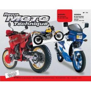 REVUE MOTO TECHNIQUE HONDA NX 650 DOMINATOR de 1988 à 1998 - RMT 71