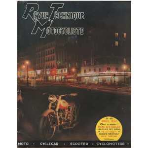 REVUE TECHNIQUE MOTOCYCLISTE RADIOR et VELOSOLEX N°48 MARS 1952