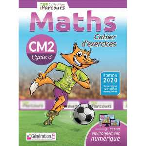 CAHIER D'EXERCICES IPARCOURS MATHS CM2 (2020) / GENERATION 5 / 9782362463419