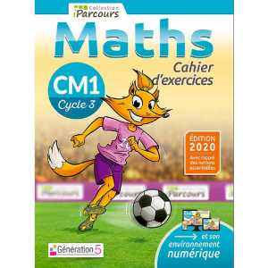 CAHIER D'EXERCICES IPARCOURS MATHS CM1 (2020) / GENERATION 5 / 9782362463402