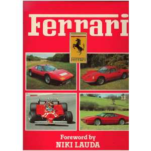 FERRARI / Foreword by NIKI LAUDA / COLOUR LIBRARY /9780517376911