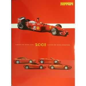 ALBUM FERRARI 2001 / YEARBOOK 2001 / ANNUARIO 2001