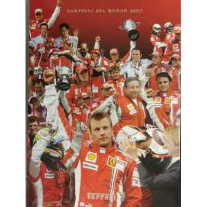 ALBUM FERRARI 2007 / YEARBOOK 2007 / ANNUARIO 2007