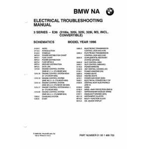 ELECTRICAL TROUBLESHOOTING MANUAL BMW SERIE 3