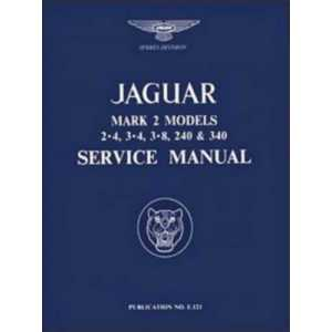 Jaguar MK2 Service Manual / 2·4, 3·4 AND 3·8 LITRE