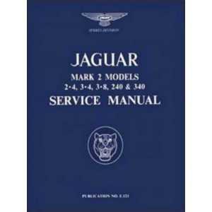 Jaguar MK2 Service Manual / 2·4, 3·4 AND 3·8 LITRE