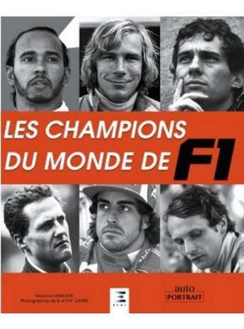 9791028304331 CHAMPIONS DE FORMULE 1