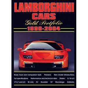Lamborghini 9781855206489 Cars Gold Portfolio 1990-2004