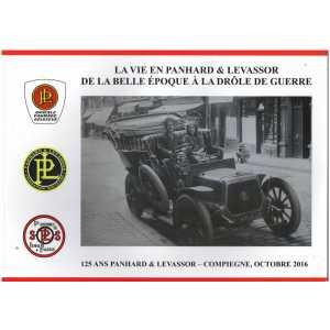 125 ANS DE PANHARD ET LEVASSOR   FLAT-TWIN N° 117