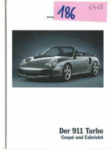 Catalogue PORSCHE 911-996