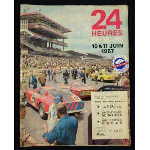 Programme Officiel des 24 heures du Mans 1967