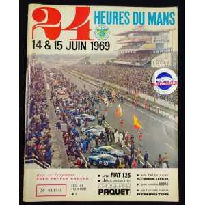 Programme Officiel des 24 heures du Mans 1969