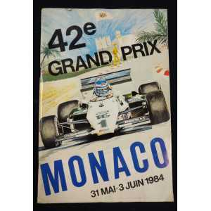 Programme Officiel Grand Prix de Monaco 1984