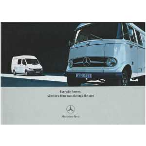Everyday Heroes Mercedes - Benz Vans Through the Ages