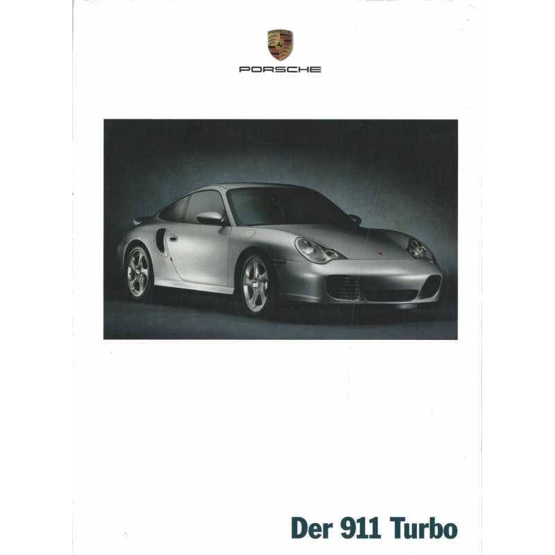 Catalogue PORSCHE 911-996 TURBO