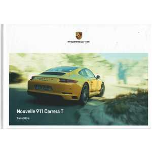 Catalogue PORSCHE 911 CARRERA T (Français) 10/2017