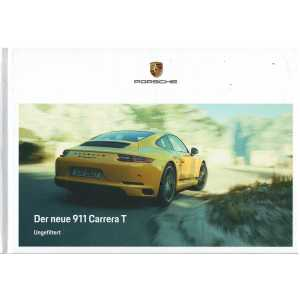 Catalogue PORSCHE 911 CARRERA T (Allemand) 10/2017