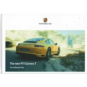 Catalogue PORSCHE 911 The new 911 CARRERA T (Anglais) 10/2017