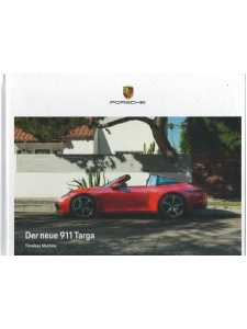 Catalogue PORSCHE 911-992  Der neue 911 TARGA (Allemand) 05/20