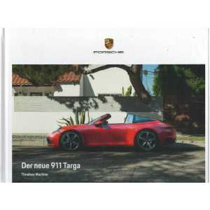 Catalogue PORSCHE 911-992  Der neue 911 TARGA (Allemand) 05/20