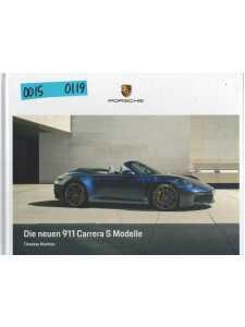 Catalogue PORSCHE 911-992 Die neuen 911 Carrera S Modelle (Allemand) 01/19