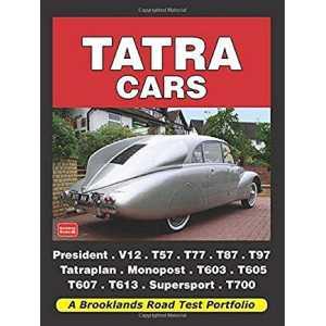 Tatra Cars 100 year history-9781855208667