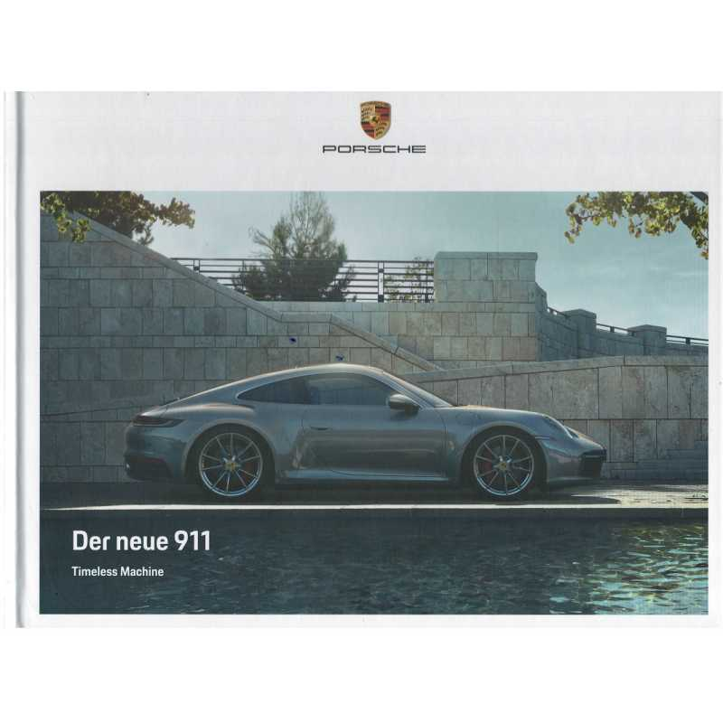 Catalogue PORSCHE 911-992 Der neue 911 Carrera S - Carrera 4S (Allemand) 118