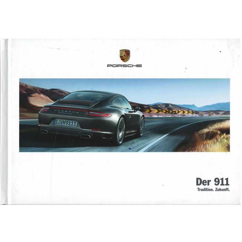 Catalogue PORSCHE 911-991 Der 911  (Allemand) 03/17