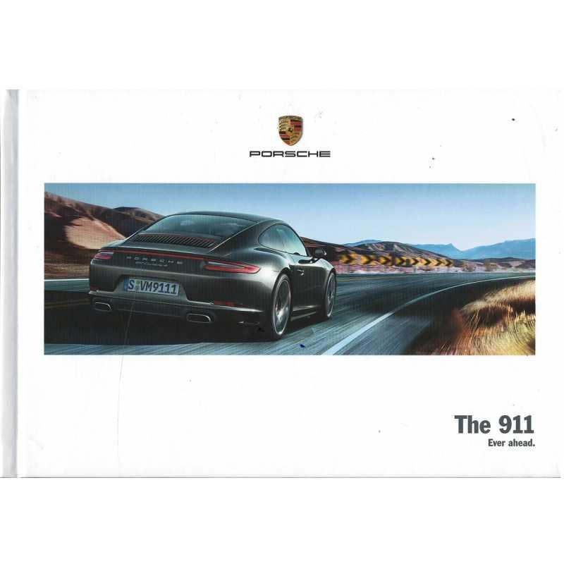 Catalogue PORSCHE 911-991 The 911 (Anglais) 03/17