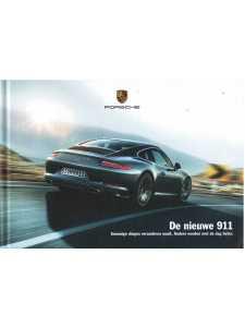Catalogue PORSCHE 911-991 De nieuwe 911 (Néerlandais) 07/15