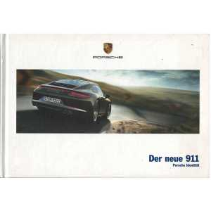 Catalogue PORSCHE 911-991 Der neue 911 (Allemand) 05/12