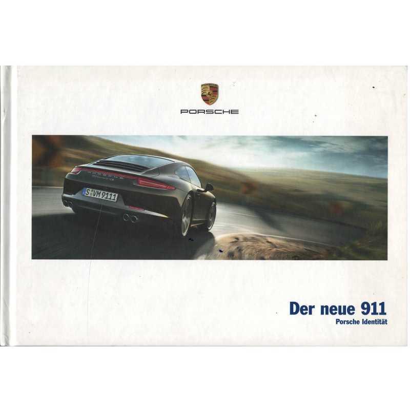 Catalogue PORSCHE 911-991 Der neue 911 (Allemand) 05/12