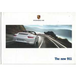 Catalogue PORSCHE 911-991The new 911 (Anglais) 02/12