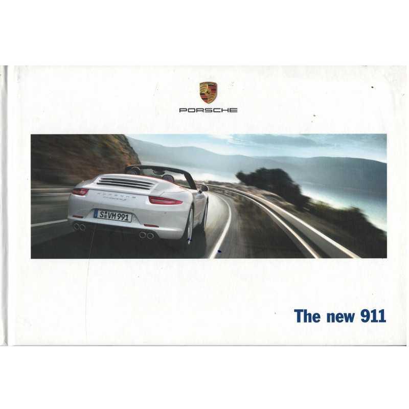 Catalogue PORSCHE 911-991The new 911 (Anglais) 02/12